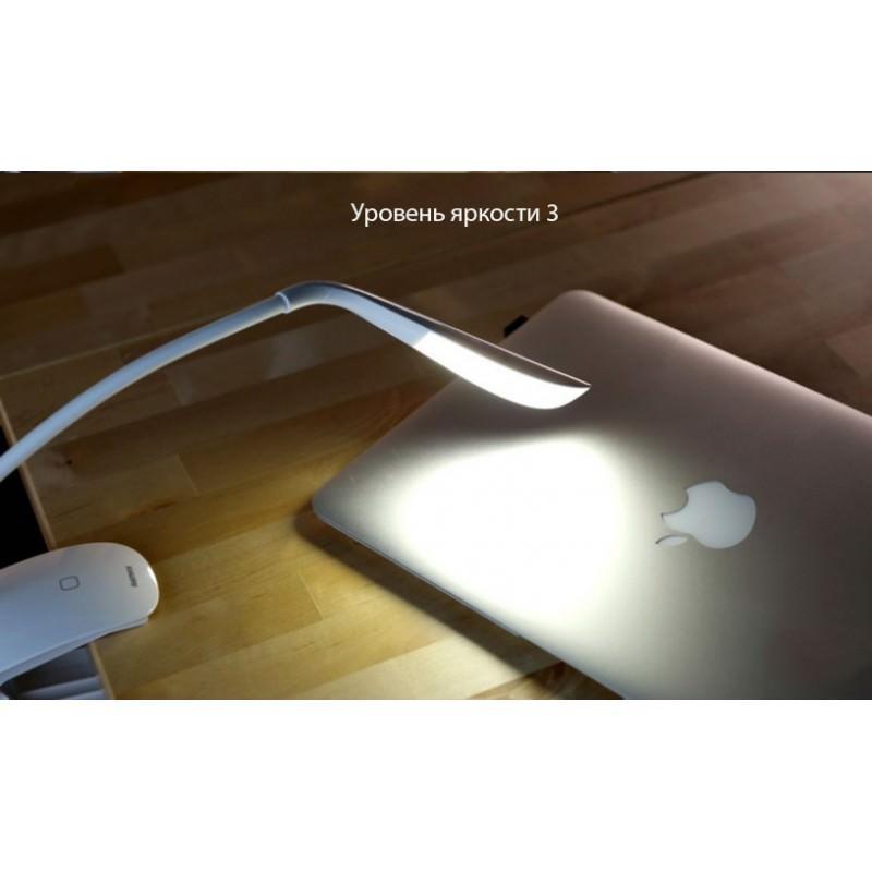 Гибкая настольная LED лампа Remax Milk: 50000 часов, 120 люмен 205690