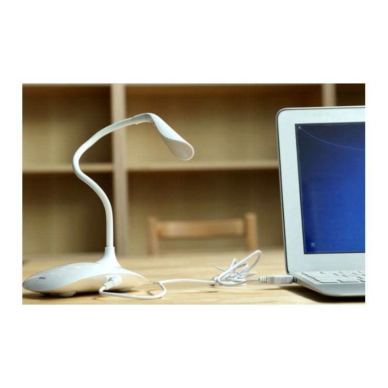 Гибкая настольная LED лампа Remax Milk: 50000 часов, 120 люмен 205693