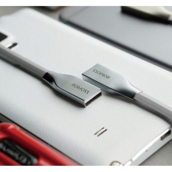28834 - Зарядный гибридный кабель Romoss Rolink Hybrid - Lightning + Micro USB