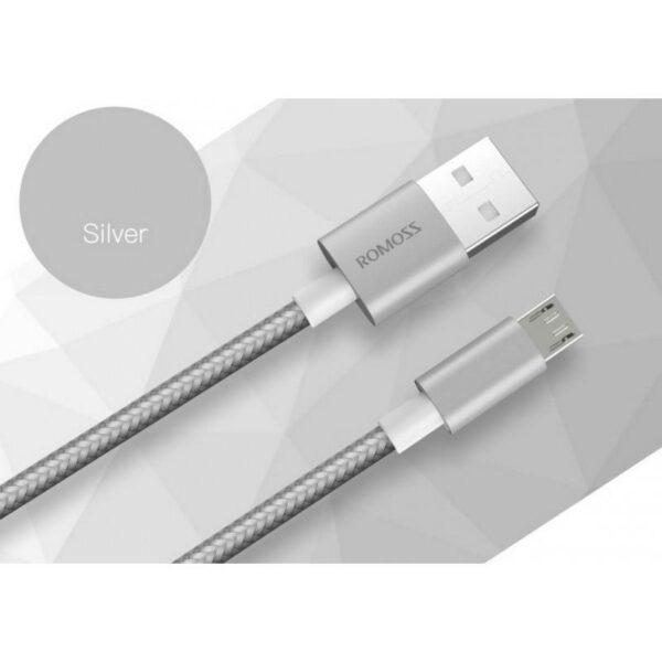 28904 - Зарядный кабель Romoss CB05N с интерфейсом USB / Micro USB