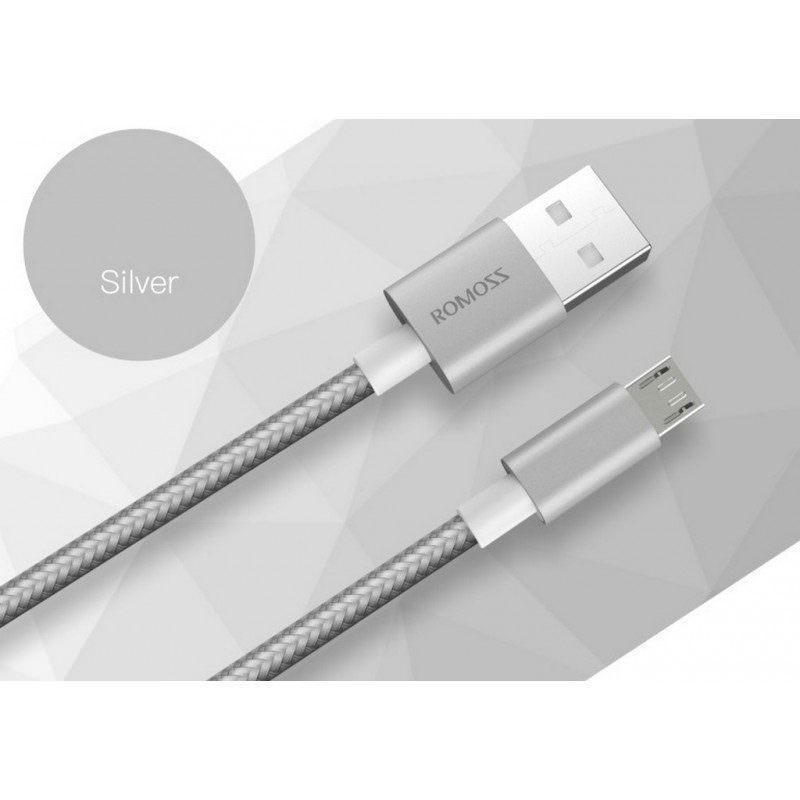 Зарядный кабель Romoss CB05N с интерфейсом USB / Micro USB