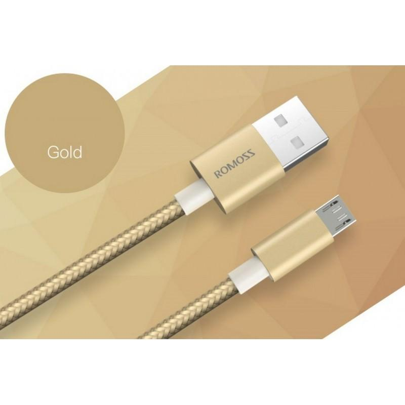 Зарядный кабель Romoss CB05N с интерфейсом USB / Micro USB 205776