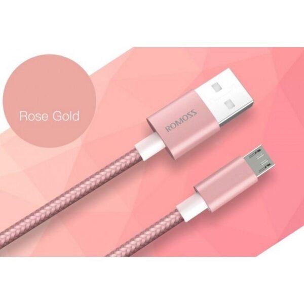 28907 - Зарядный кабель Romoss CB05N с интерфейсом USB / Micro USB