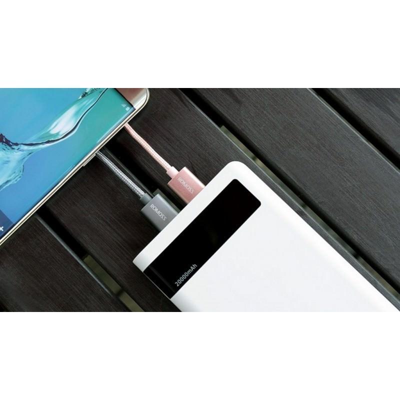 Зарядный кабель Romoss CB05N с интерфейсом USB / Micro USB 205779