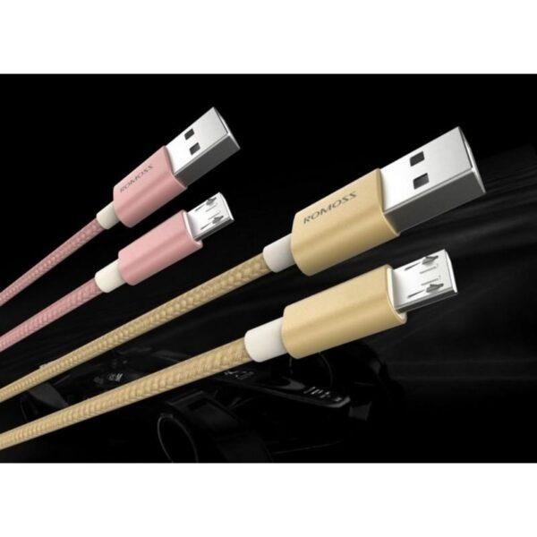 28910 - Зарядный кабель Romoss CB05N с интерфейсом USB / Micro USB