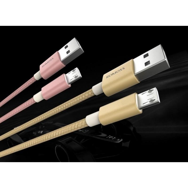 Зарядный кабель Romoss CB05N с интерфейсом USB / Micro USB 205781