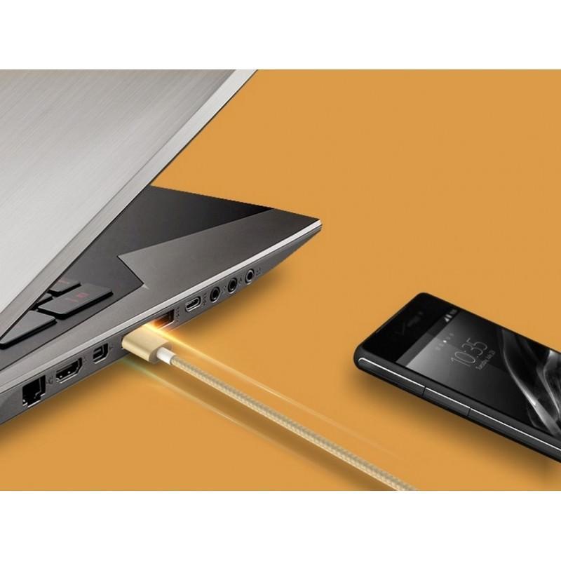 Зарядный кабель Romoss CB05N с интерфейсом USB / Micro USB 205784
