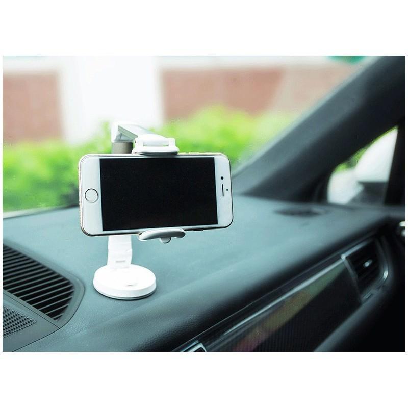Мульти-держатель для смартфона REMAX: металлический корпус, присоска, трехуровневая регулировка 205758