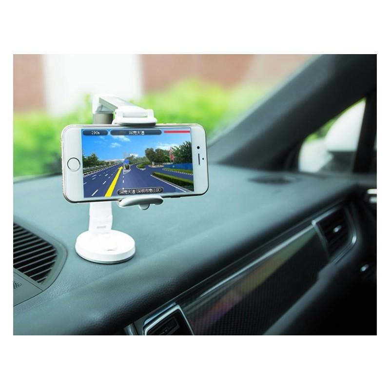 Мульти-держатель для смартфона REMAX: металлический корпус, присоска, трехуровневая регулировка 205765