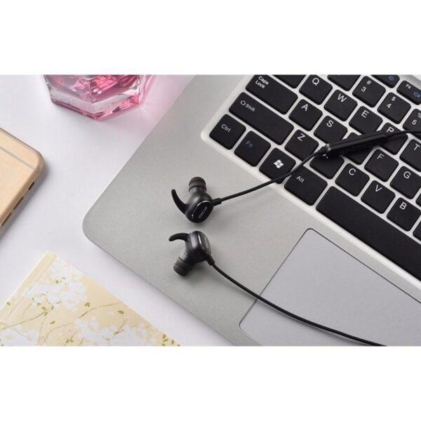 28940 - Bluetooth гарнитура QCY QY19 - Apt-X, IPx4, крепления ear hook, 6 часов прослушивания музыки