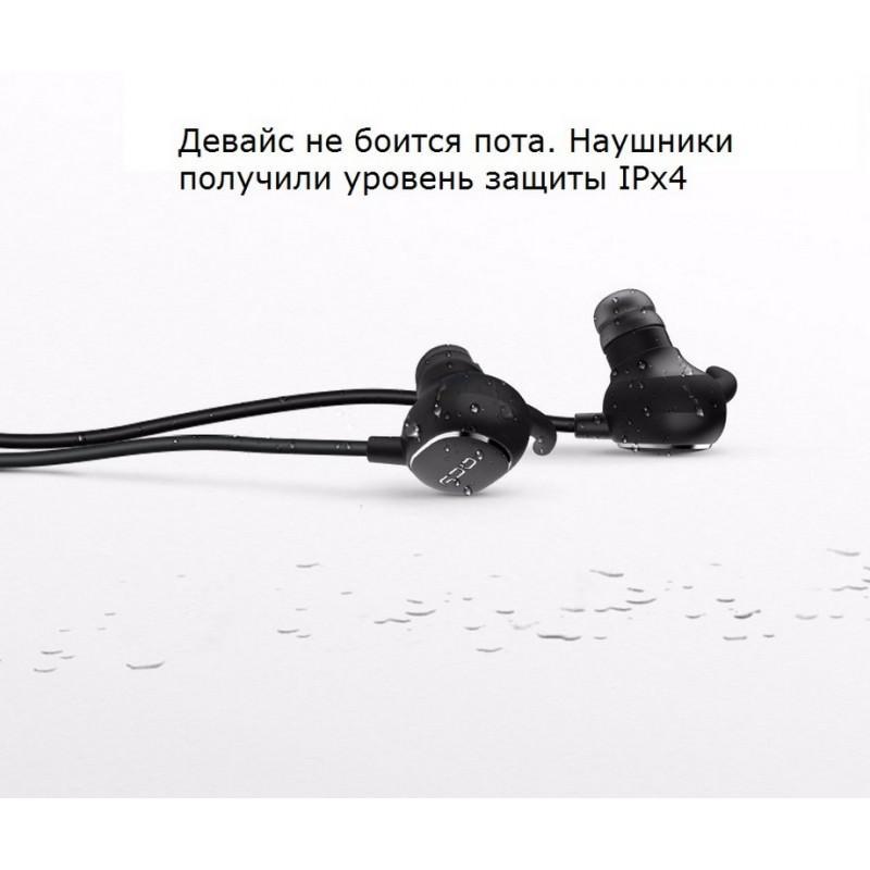 Bluetooth гарнитура QCY QY19 – Apt-X, IPx4, крепления ear hook, 6 часов прослушивания музыки 205799
