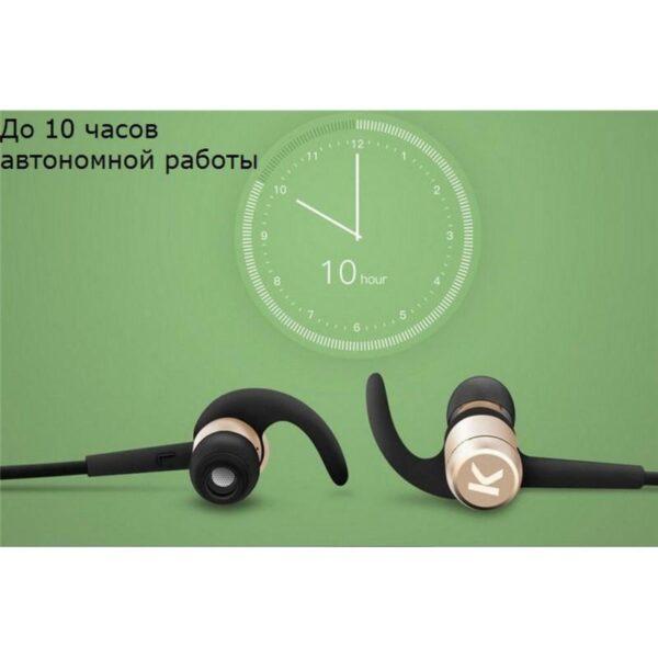 28957 - Bluetooth гарнитура Kugou M1 - Apt-X, до 10 часов музыки и разговоров, шумоподавление
