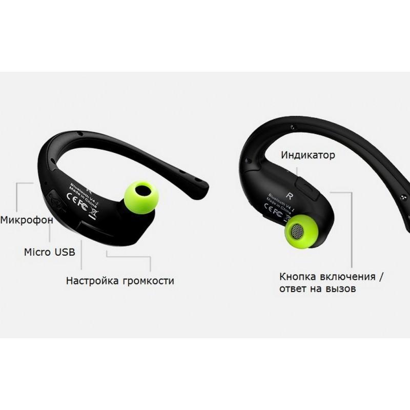 Bluetooth гарнитура Dacom Athlete – NFS, шумоподавление, до 8 часов непрерывной работы 205822