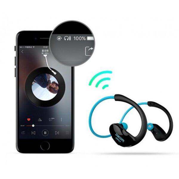 28971 - Bluetooth гарнитура Dacom Athlete - NFS, шумоподавление, до 8 часов непрерывной работы