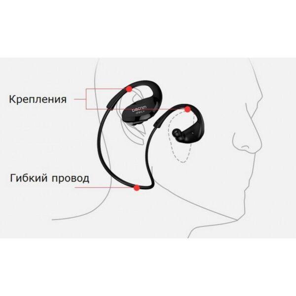 28975 - Bluetooth гарнитура Dacom Athlete - NFS, шумоподавление, до 8 часов непрерывной работы