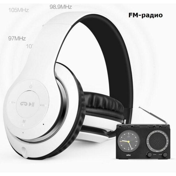 28995 - Складные беспроводные наушники Sound Intone BT-09 - Bluetooth 4.0, 3.5 мм аудио, Micro SD, FM-радио, до 8 часов работы