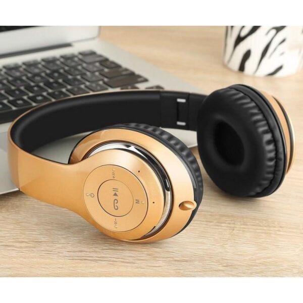 28998 - Складные беспроводные наушники Sound Intone BT-09 - Bluetooth 4.0, 3.5 мм аудио, Micro SD, FM-радио, до 8 часов работы