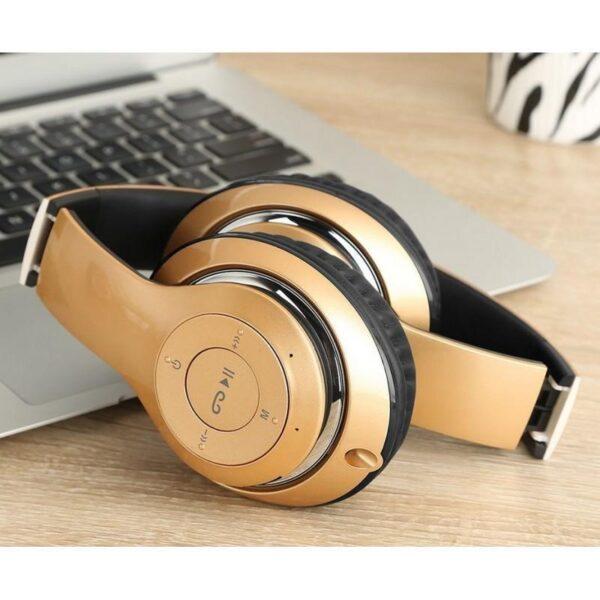28999 - Складные беспроводные наушники Sound Intone BT-09 - Bluetooth 4.0, 3.5 мм аудио, Micro SD, FM-радио, до 8 часов работы