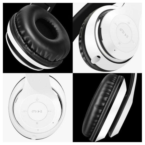 29000 - Складные беспроводные наушники Sound Intone BT-09 - Bluetooth 4.0, 3.5 мм аудио, Micro SD, FM-радио, до 8 часов работы