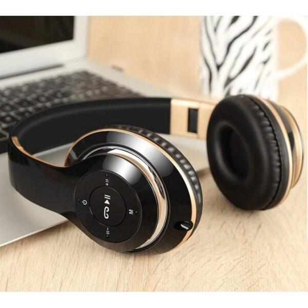 29003 - Складные беспроводные наушники Sound Intone BT-09 - Bluetooth 4.0, 3.5 мм аудио, Micro SD, FM-радио, до 8 часов работы