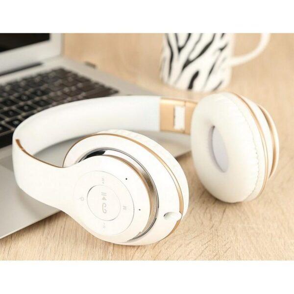 29005 - Складные беспроводные наушники Sound Intone BT-09 - Bluetooth 4.0, 3.5 мм аудио, Micro SD, FM-радио, до 8 часов работы