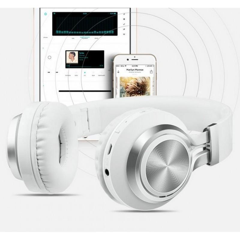 29007 - Складные наушники Sound Intone BT-06 - Bluetooth 4.0, 3.5 мм аудио, Micro SD, FM-радио, шумоподавление, Hi-Fi звук