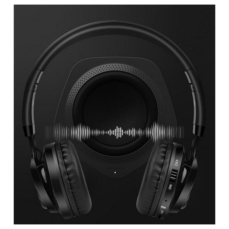Складные наушники Sound Intone BT-06 – Bluetooth 4.0, 3.5 мм аудио, Micro SD, FM-радио, шумоподавление, Hi-Fi звук 205861