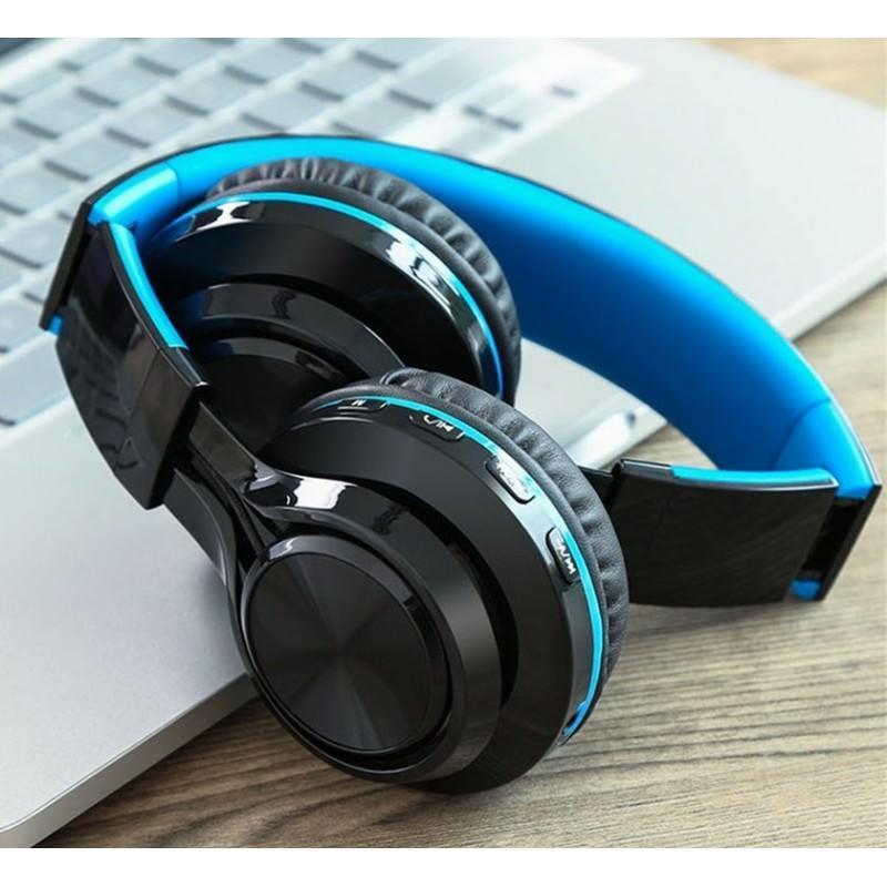 Складные наушники Sound Intone BT-06 – Bluetooth 4.0, 3.5 мм аудио, Micro SD, FM-радио, шумоподавление, Hi-Fi звук 205864