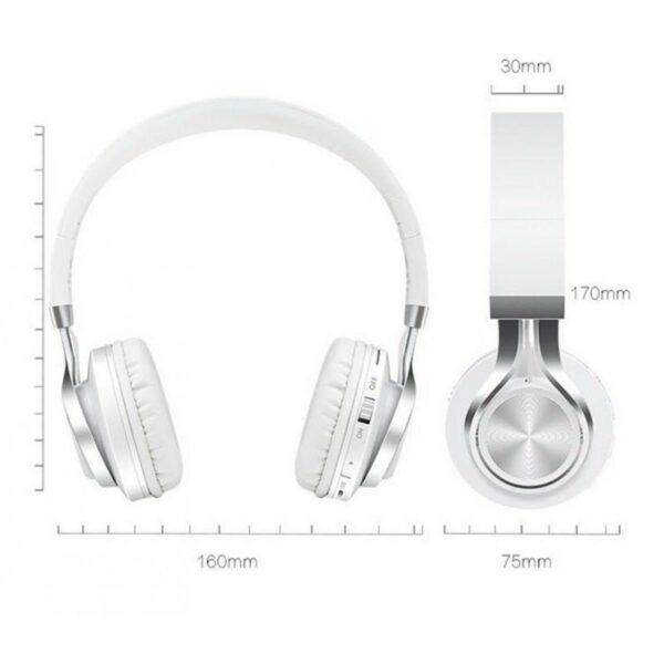29014 - Складные наушники Sound Intone BT-06 - Bluetooth 4.0, 3.5 мм аудио, Micro SD, FM-радио, шумоподавление, Hi-Fi звук