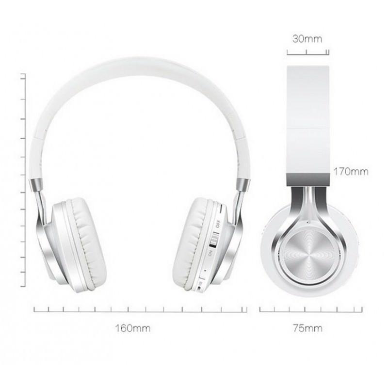 Складные наушники Sound Intone BT-06 – Bluetooth 4.0, 3.5 мм аудио, Micro SD, FM-радио, шумоподавление, Hi-Fi звук 205867