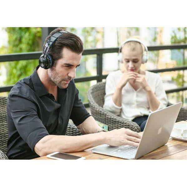 29015 - Складные наушники Sound Intone BT-06 - Bluetooth 4.0, 3.5 мм аудио, Micro SD, FM-радио, шумоподавление, Hi-Fi звук