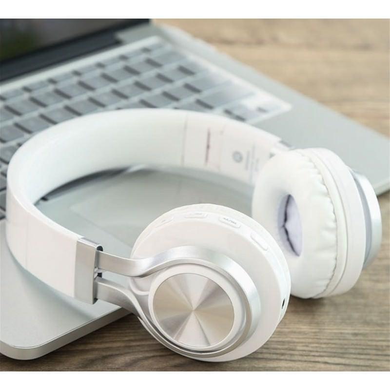 Складные наушники Sound Intone BT-06 – Bluetooth 4.0, 3.5 мм аудио, Micro SD, FM-радио, шумоподавление, Hi-Fi звук 205870