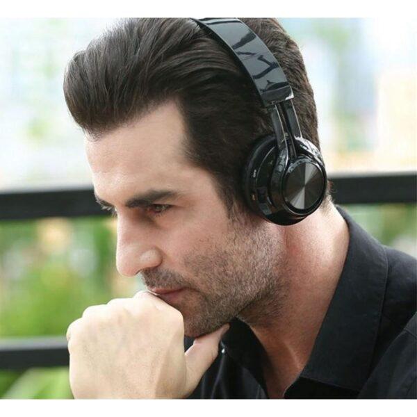 29018 - Складные наушники Sound Intone BT-06 - Bluetooth 4.0, 3.5 мм аудио, Micro SD, FM-радио, шумоподавление, Hi-Fi звук