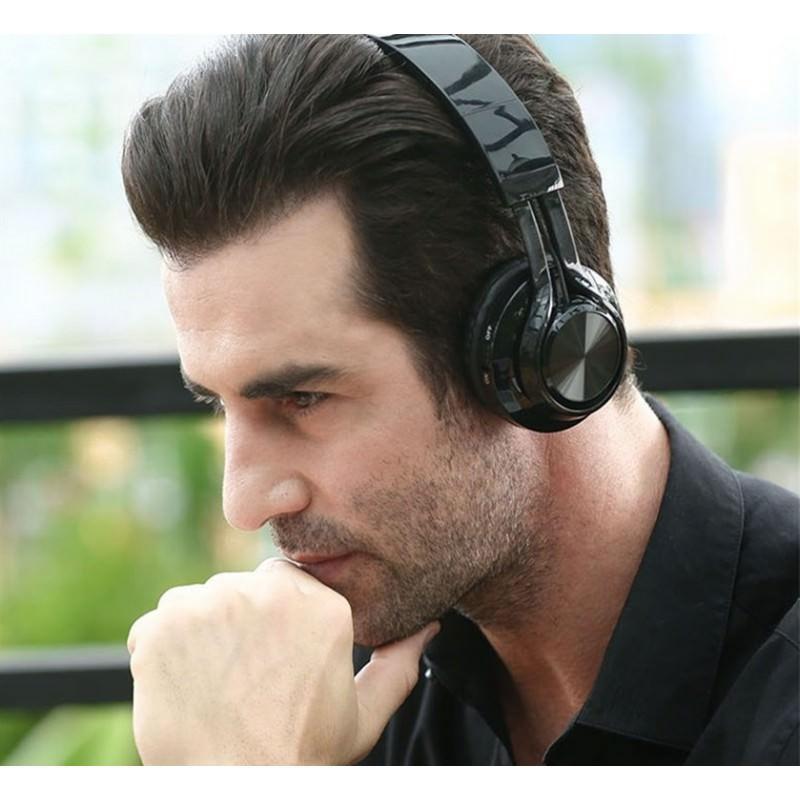 Складные наушники Sound Intone BT-06 – Bluetooth 4.0, 3.5 мм аудио, Micro SD, FM-радио, шумоподавление, Hi-Fi звук 205871