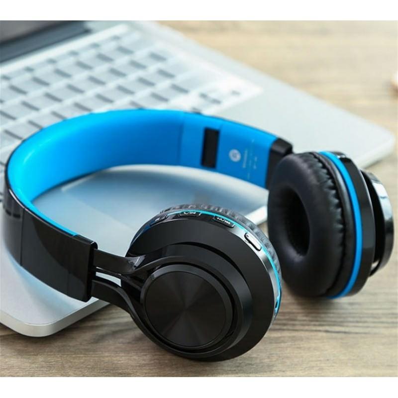Складные наушники Sound Intone BT-06 – Bluetooth 4.0, 3.5 мм аудио, Micro SD, FM-радио, шумоподавление, Hi-Fi звук 205872