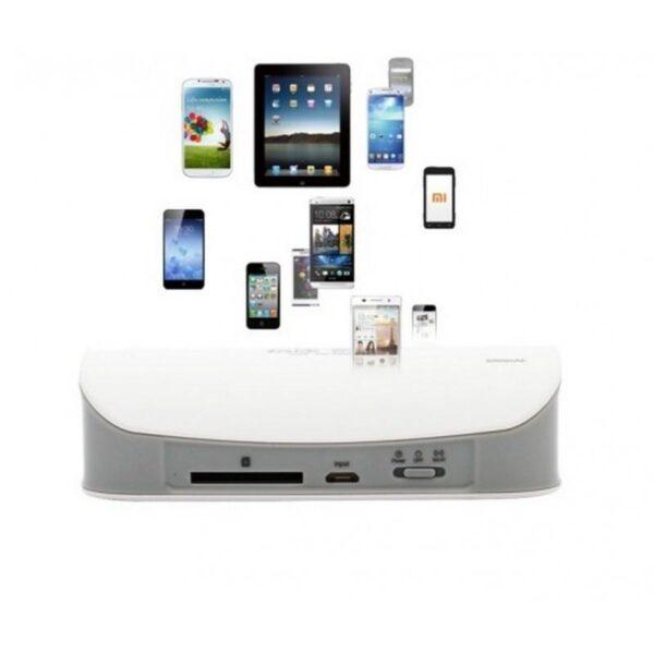 29027 - Многофункциональное устройство Pisen Cloud 4 в 1 - Power Bank 5000 мАч, Wi-Fi роутер, репитер, облачное хранилище