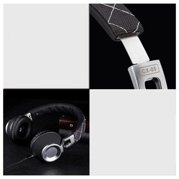 29054 - Накладные полноразмерные наушники Sound Intone CX-05 - Super Bass Hi-Fi звук, металлическая складная конструкция, микрофон