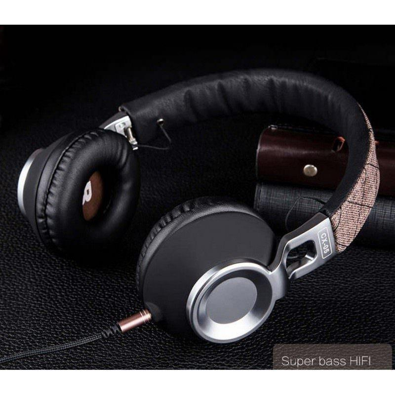 Накладные полноразмерные наушники Sound Intone CX-05 – Super Bass Hi-Fi звук, металлическая складная конструкция, микрофон