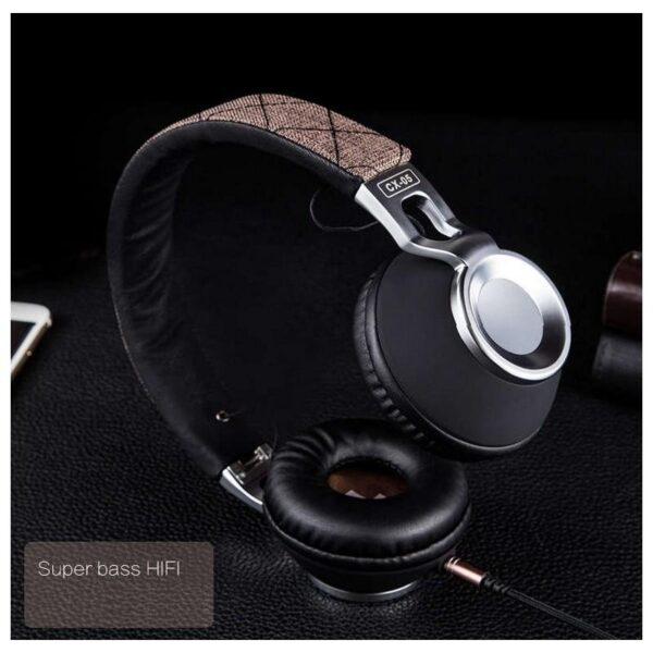 29062 - Накладные полноразмерные наушники Sound Intone CX-05 - Super Bass Hi-Fi звук, металлическая складная конструкция, микрофон