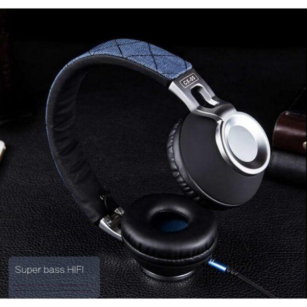 29064 - Накладные полноразмерные наушники Sound Intone CX-05 - Super Bass Hi-Fi звук, металлическая складная конструкция, микрофон