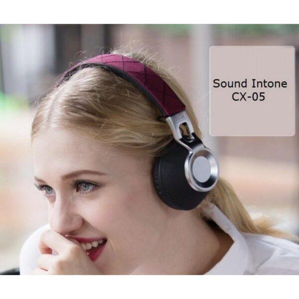 29065 - Накладные полноразмерные наушники Sound Intone CX-05 - Super Bass Hi-Fi звук, металлическая складная конструкция, микрофон