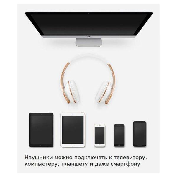 29069 - Проводные наушники-гарнитура Sound Intone I65 Hi-Fi - шумоподавление, встроенный микрофон, складная конструкция, HD звук