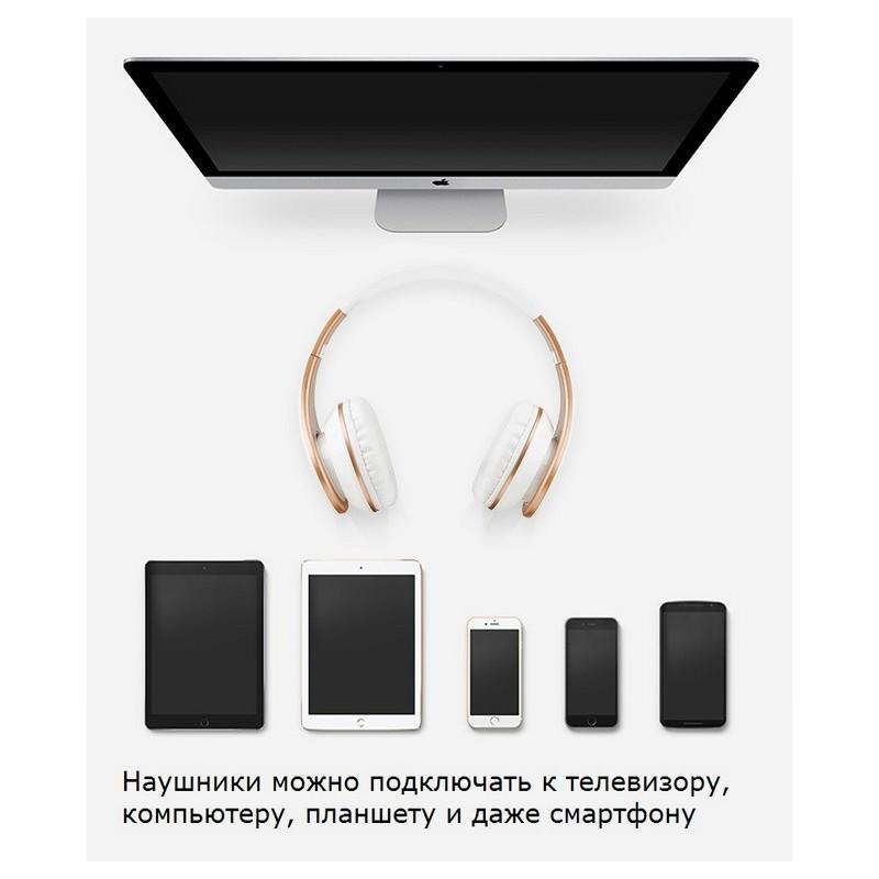 Проводные наушники-гарнитура Sound Intone I65 Hi-Fi – шумоподавление, встроенный микрофон, складная конструкция, HD звук 205915