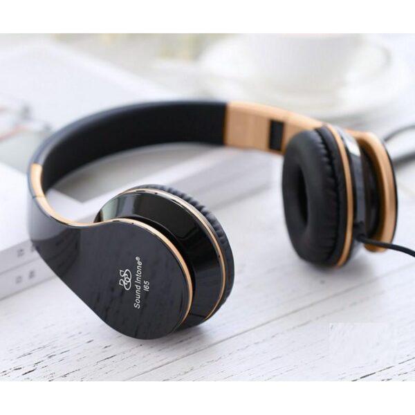 29070 - Проводные наушники-гарнитура Sound Intone I65 Hi-Fi - шумоподавление, встроенный микрофон, складная конструкция, HD звук