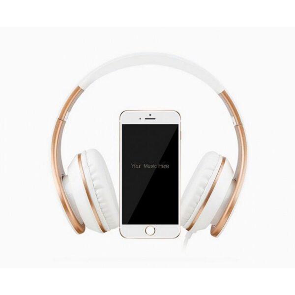 29073 - Проводные наушники-гарнитура Sound Intone I65 Hi-Fi - шумоподавление, встроенный микрофон, складная конструкция, HD звук