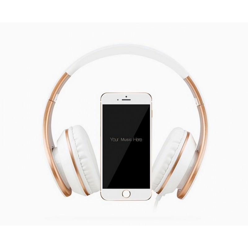 Проводные наушники-гарнитура Sound Intone I65 Hi-Fi – шумоподавление, встроенный микрофон, складная конструкция, HD звук 205918