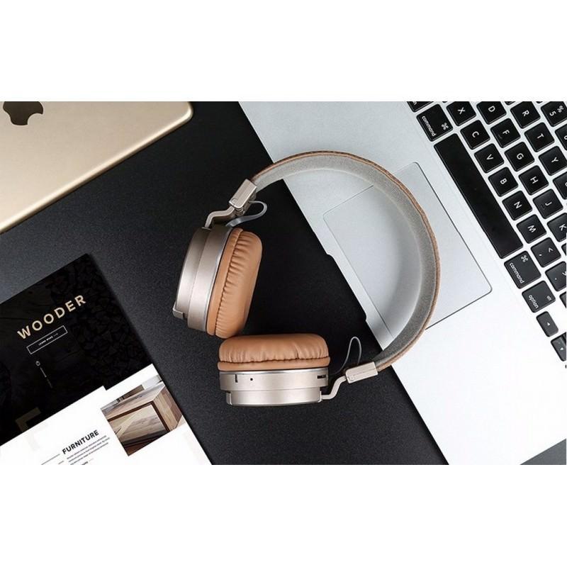 складные Bluetooth наушники Sound Intone P2 поддержка Micro Sd