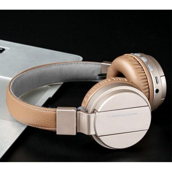 29081 - Складные Bluetooth наушники Sound Intone P2 - поддержка micro SD карт, FM-радио, микрофон