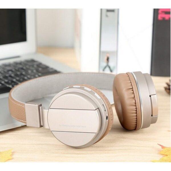 29082 - Складные Bluetooth наушники Sound Intone P2 - поддержка micro SD карт, FM-радио, микрофон