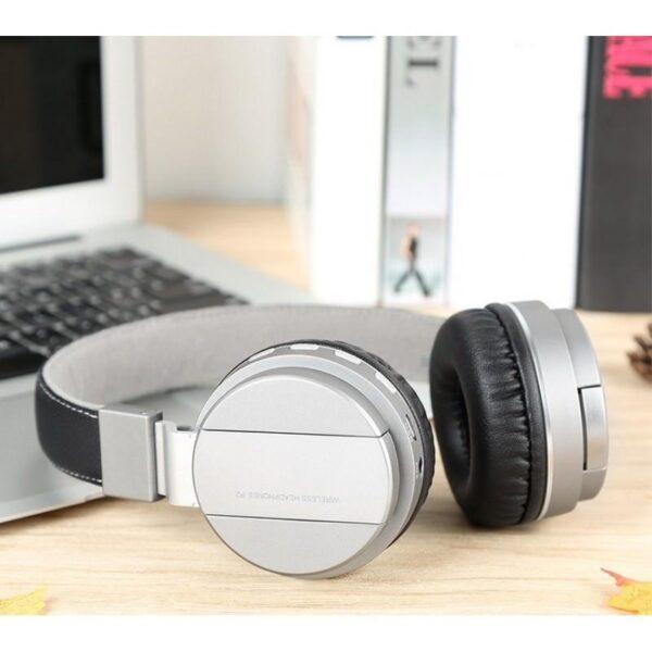 29086 - Складные Bluetooth наушники Sound Intone P2 - поддержка micro SD карт, FM-радио, микрофон